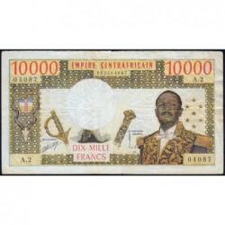 Centrafrique - Pick 8 - 10'000 francs - Série X.1 - 1978 - Etat : TB+