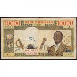 Centrafrique - Pick 8 - 10'000 francs - Série Y.1 - 1978 - Etat : TB-