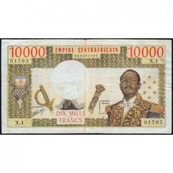 Centrafrique - Pick 8 - 10'000 francs - Série A.2 - 1978 - Etat : TB à TB+