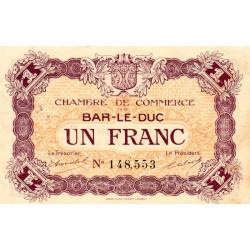 Bar-le-Duc - Pirot 19-8 - 1 franc - Sans date (1917) - Etat : TTB