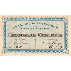 Lons-le-Saunier - Pirot 74-16 - 50 centimes - Série BF - Sans date - Etat : SUP