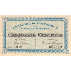 Lons-le-Saunier - Pirot 74-16 - Série BF - 50 centimes - Etat : SUP