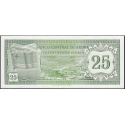 Aruba - Pick 3 - 25 florin - 01/01/1986 - Etat : NEUF