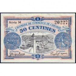Cahors (Lot) - Pirot 35-17 - 50 centimes - Série H - 21/04/1917 - Etat : SPL