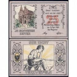 Pologne - Notgeld - Münsterberg (Ziebice) - 25 pfennig - 19/04/1921 - Etat : NEUF