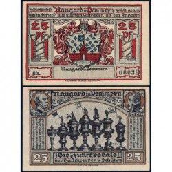 Pologne - Notgeld - Naugard (Nowogard) - 25 pfennig - 1922 - Etat : NEUF