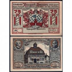 Pologne - Notgeld - Naugard (Nowogard) - 75 pfennig - 1922 - Etat : SPL