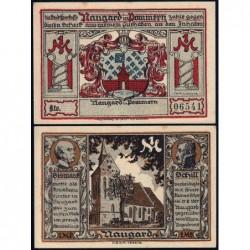 Pologne - Notgeld - Naugard (Nowogard) - 1 mark - 1922 - Etat : SPL