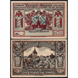 Pologne - Notgeld - Naugard (Nowogard) - 3 mark - 1922 - Etat : SPL