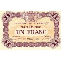 Bar-le-Duc - Pirot 19-8 - 1 franc - Sans date (1917) - Etat : SPL