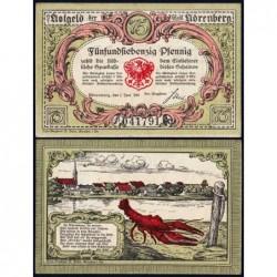 Pologne - Notgeld - Nörenberg (Insko) - 75 pfennig - 01/06/1920 - Etat : SPL