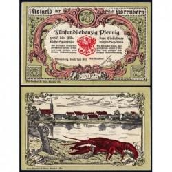 Pologne - Notgeld - Nörenberg (Insko) - 75 pfennig - 09/07/1920 - Etat : NEUF