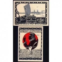 Pologne - Notgeld - Ohlau (Olawa) - 50 pfennig - 1921 - Etat : NEUF
