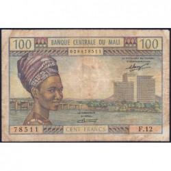 Mali - Pick 11 - 100 francs - Série F.12 - 1972 - Etat : TB-
