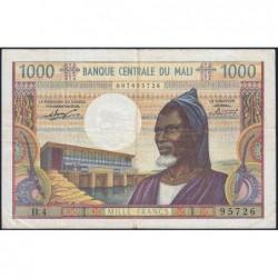 Mali - Pick 13a - 1'000 francs - Série B.4 - 1970 - Etat : TTB