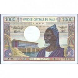 Mali - Pick 13e - 1'000 francs - Série A.29 - 1981 - Etat : pr.NEUF