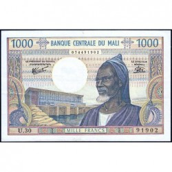 Mali - Pick 13e - 1'000 francs - Série U.30 - 1981 - Etat : TTB+
