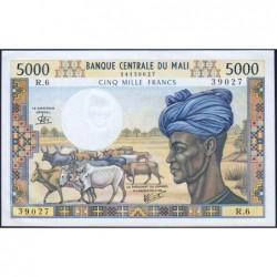 Mali - Pick 14e - 5'000 francs - Série R.6 - 1981 - Etat : pr.NEUF
