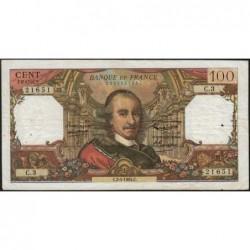 F 65-01 - 02/04/1964 - 100 francs - Corneille - Série C.3 - Etat : TB