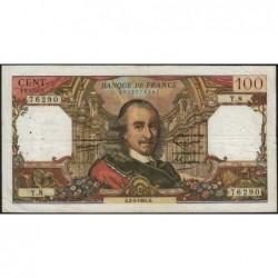 F 65-01 - 02/04/1964 - 100 francs - Corneille - Série Y.8 - Etat : TB+