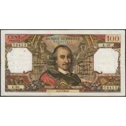 F 65-01 - 02/04/1964 - 100 francs - Corneille - Série A.10 - Etat : TB+