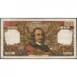 F 65-02 - 02/07/1964 - 100 francs - Corneille - Série R.20 - Etat : TB-