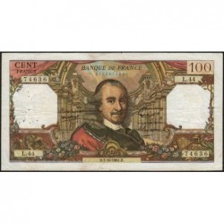 F 65-04 - 01/10/1964 - 100 francs - Corneille - Série L.44 - Etat : TB+
