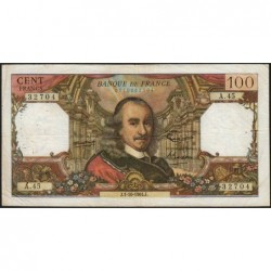 F 65-04 - 01/10/1964 - 100 francs - Corneille - Série A.45 - Etat : TB