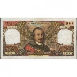 F 65-04 - 01/10/1964 - 100 francs - Corneille - Série P.46 - Etat : TB