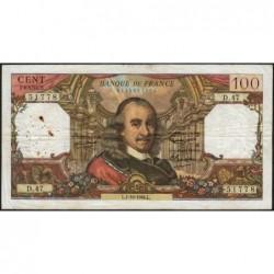 F 65-04 - 01/10/1964 - 100 francs - Corneille - Série D.47 - Etat : TB