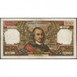 F 65-05 - 03/12/1964 - 100 francs - Corneille - Série R.62 - Etat : TB-