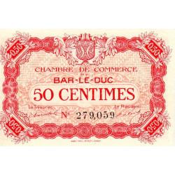 Bar-le-Duc - Pirot 19-9 - 50 centimes - 01/09/1917 - Etat : NEUF