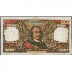F 65-07 - 01/04/1965 - 100 francs - Corneille - Série N.77 - Etat : TB