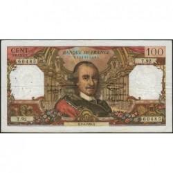 F 65-07 - 01/04/1965 - 100 francs - Corneille - Série T.92 - Etat : TB
