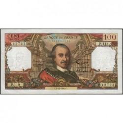 F 65-10 - 02/12/1965 - 100 francs - Corneille - Série P.119 - Etat : TB+