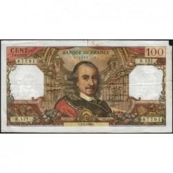 F 65-11 - 03/02/1966 - 100 francs - Corneille - Série R.131 - Etat : TB-