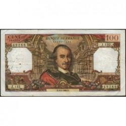 F 65-11 - 03/02/1966 - 100 francs - Corneille - Série J.132 - Etat : TB