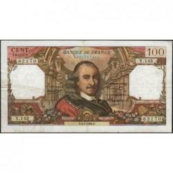 F 65-11 - 03/02/1966 - 100 francs - Corneille - Série Y.143 - Etat : TB+