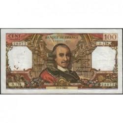 F 65-12 - 07/04/1966 - 100 francs - Corneille - Série O.159 - Etat : TB+