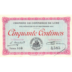 Lure - Pirot 76-1 - 50 centimes - Etat : SUP+