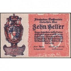 Liechtenstein - Pick 1 - 10 heller - 1920 - Etat : NEUF