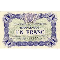 Bar-le-Duc - Pirot 19-11 - 1 franc - 01/09/1917 - Etat : SPL