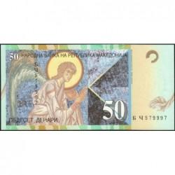 Macédoine - Pick 15b - 50 denars - 1997 - Etat : NEUF