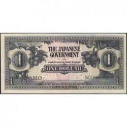 Malaisie Britannique - Pick M 5c - 1 dollar - Série MO - 1942 - Etat : SPL+