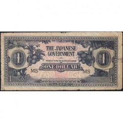 Malaisie Britannique - Pick M 5c - 1 dollar - Série MS - 1942 - Etat : B+