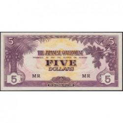 Malaisie Britannique - Pick M 6c - 5 dollars - Série MR - 1942 - Etat : pr.NEUF