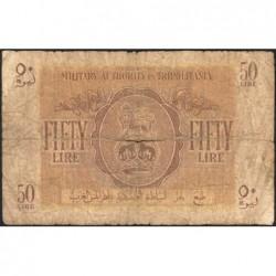 Libye - Tripolitaine - Pick M 5 - 50 lire - 1943 - Etat : AB