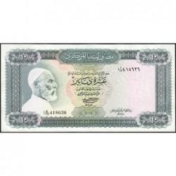 Libye - Pick 37b - 10 dinars - 1972 - Série 1A/73 - Etat : NEUF