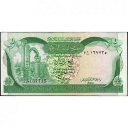 Libye - Pick 42Ab - 1/4 dinar - Série 2E/17 - 1981 - Etat : TTB