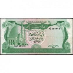 Libye - Pick 44a - 1 dinar - 1980 - Série 2C/22 - Etat : TTB